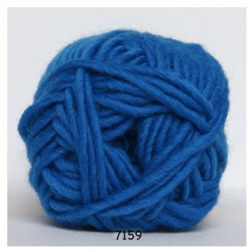 Lys blå meleret