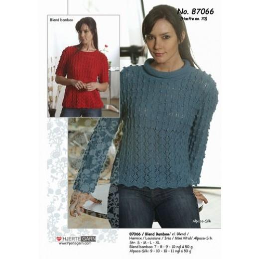 Islandsk Sweater Med Norsk Stjerne (Pind 7) 1