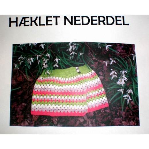 95089921230d Hæklet Nederdel 11 ...
