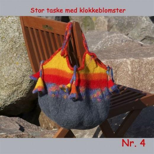 Taske Med Striber På Langs I Mange Farver 301