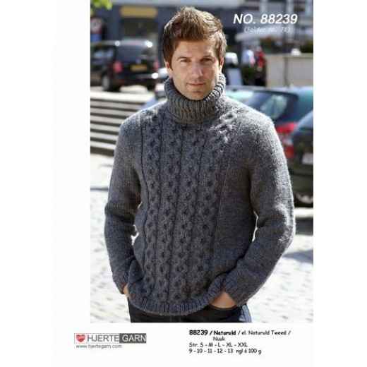 Tyk Sweater I Naturuld 41653