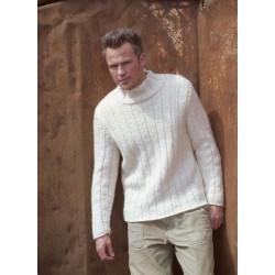 Tyk Sweater I Naturuld 41653