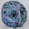 Grøn/blå/rosa striber 5020