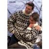 Islandsk Sweater Med Tre Farver 97058