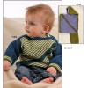 Retstrikket Diagonalstribet Sweater 24 a