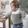 Trøje Og Hue Med Perlestrik 12-de